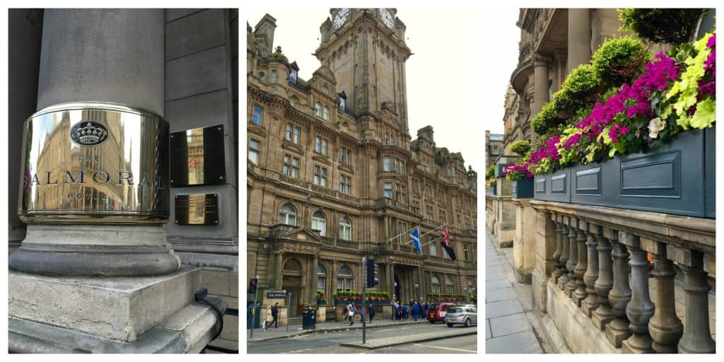 Rocco Forte Balmoral Hotel in Edinburgh, Scotland