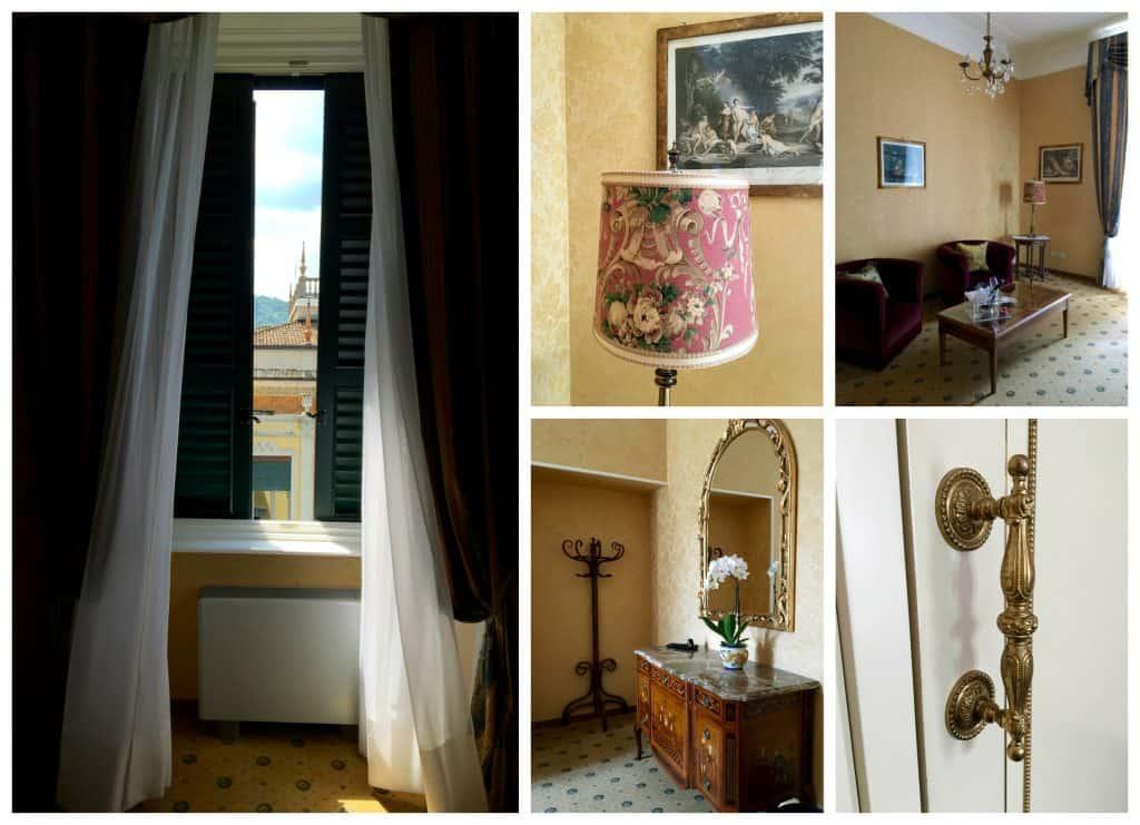 Room at the Grand Hotel Villa Serbelloni