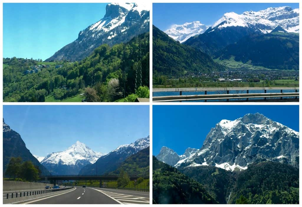 Views of the Swiss Alps