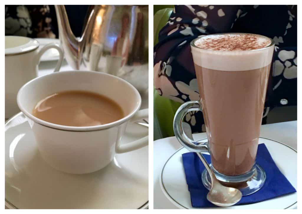 Tea and Hot Chocolate at the Rocco Forte Hotel in Edinburgh