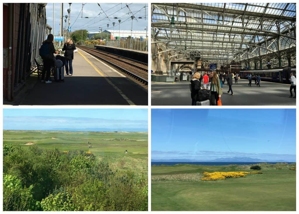 Train from Prestwick to Glasgow