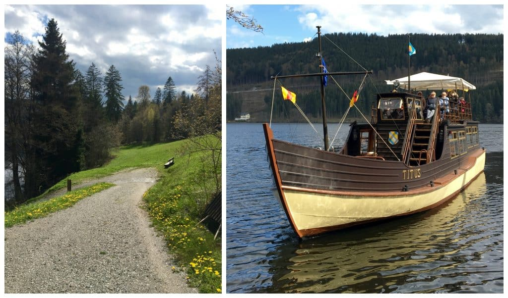 Boat on Lake Titisee