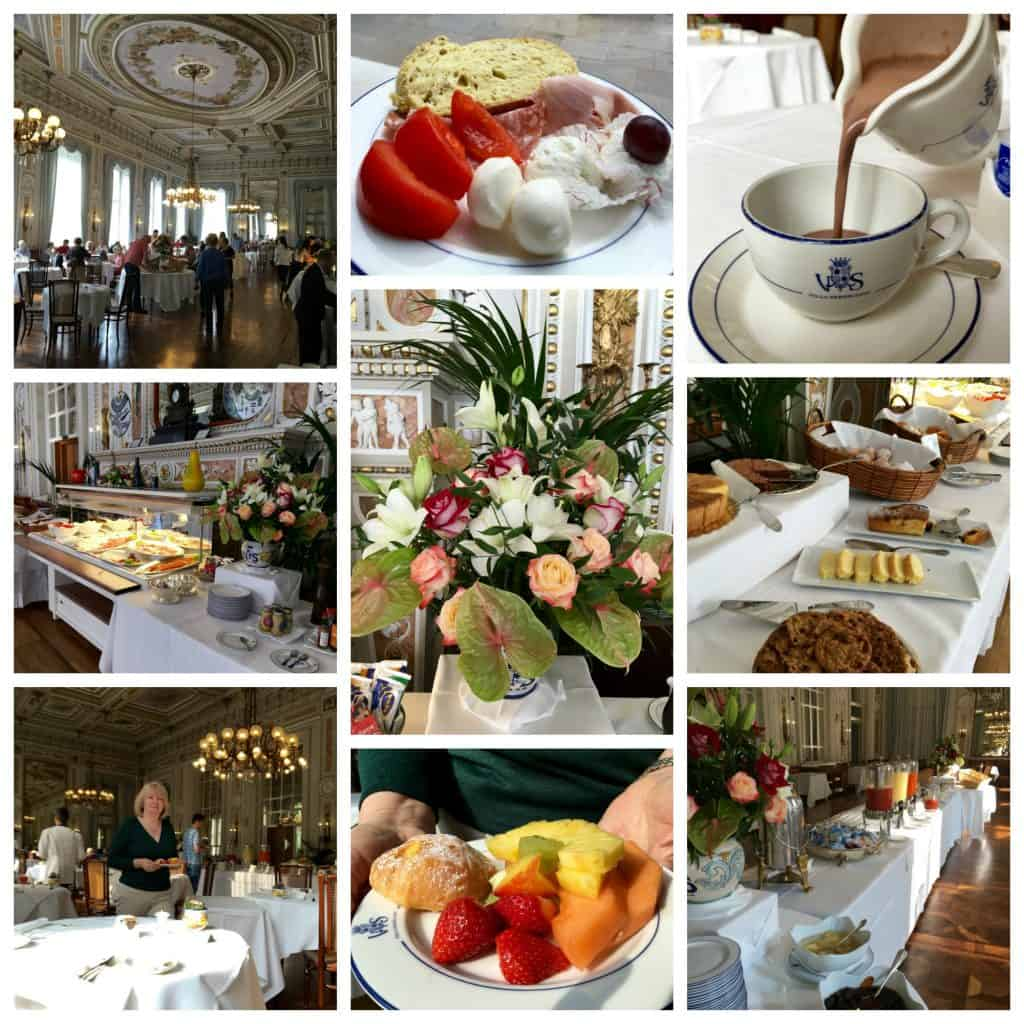Breakfast at the Grand Hotel Villa Serbelloni