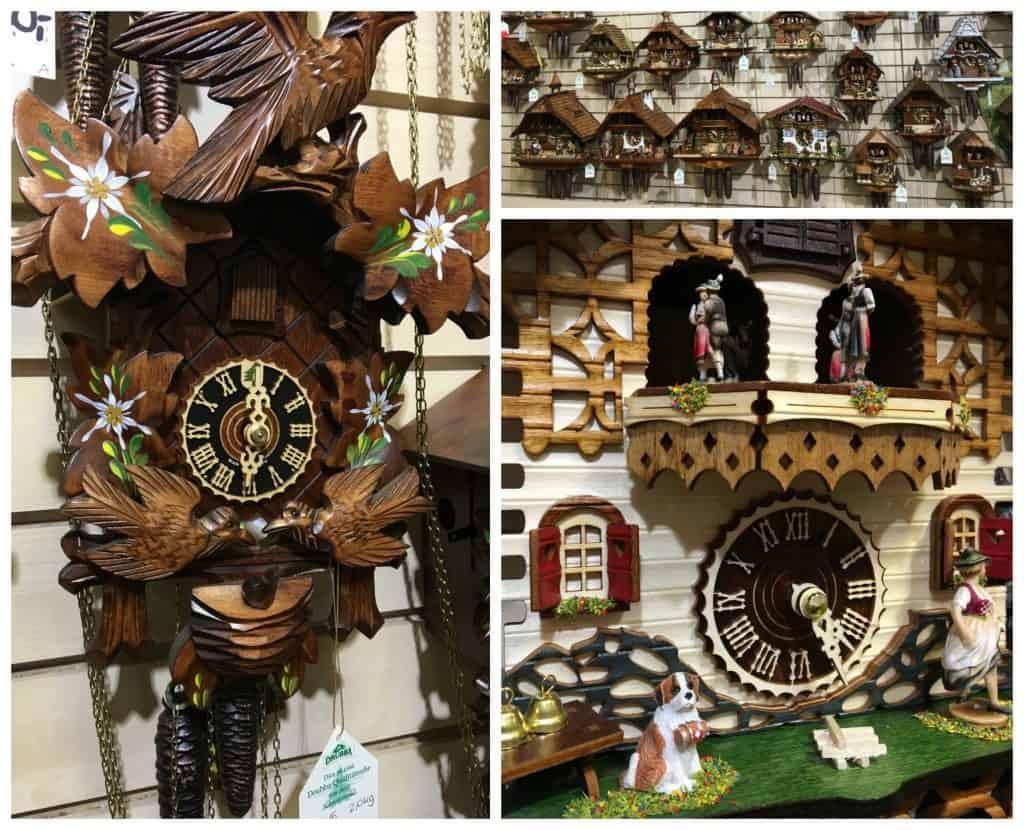 Drubba cuckoo clocks