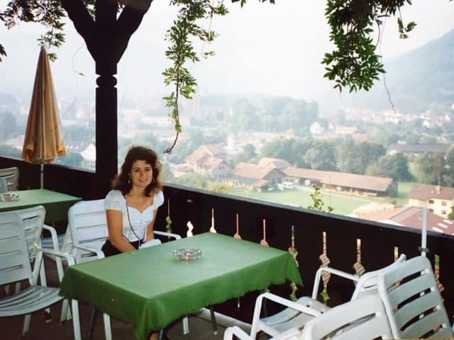 Christina in Germany, 1990