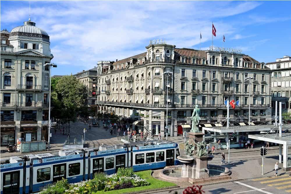 Hotel Schweizerhof in Zürich
