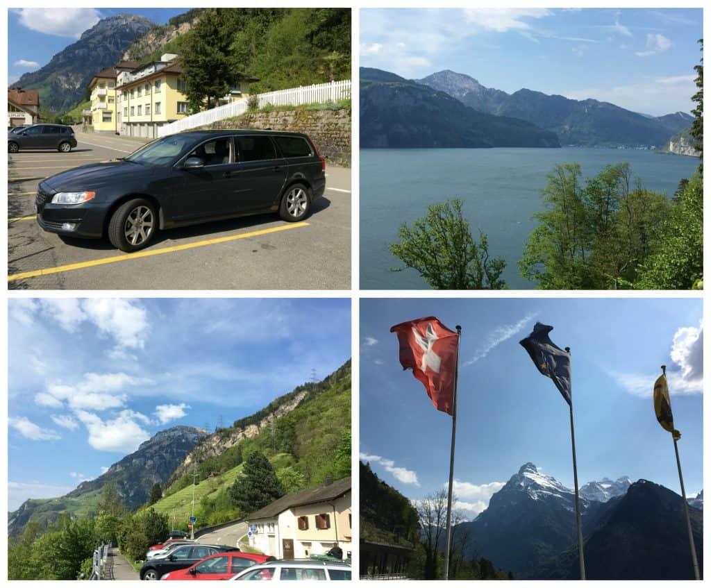 Views from Sisikon, Switzerland