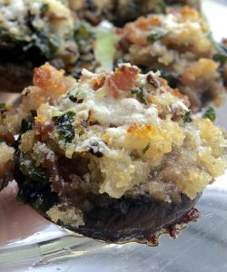 Aunt Virginia's Stuffed Mushrooms