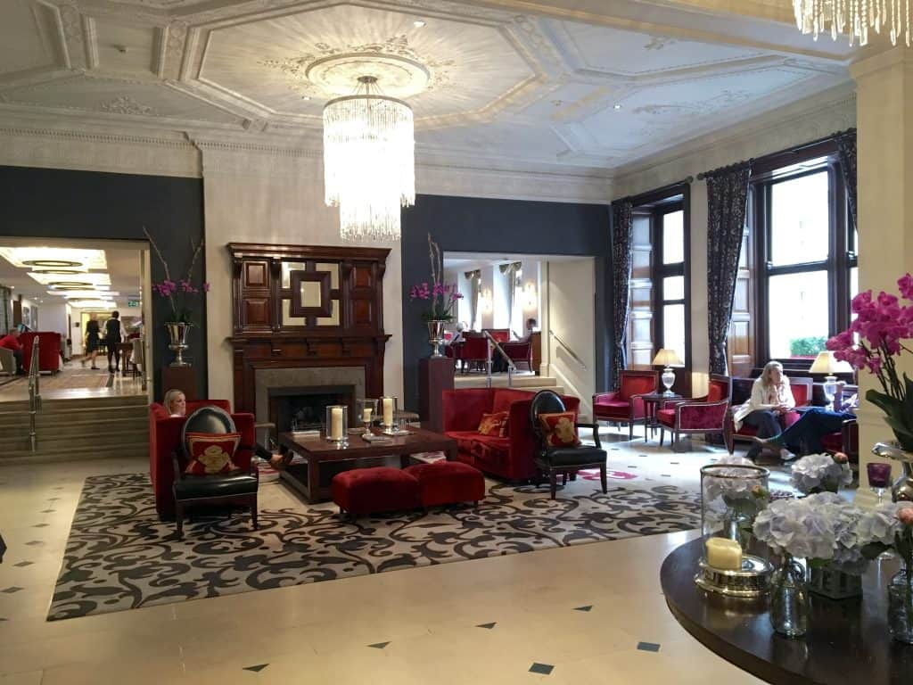 Royal Horseguards Hotel lobby