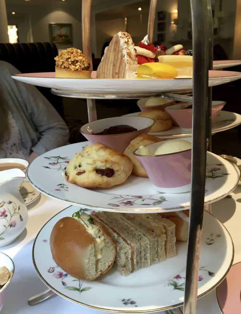 Tea Tray at the Right Royal Afternoon Tea