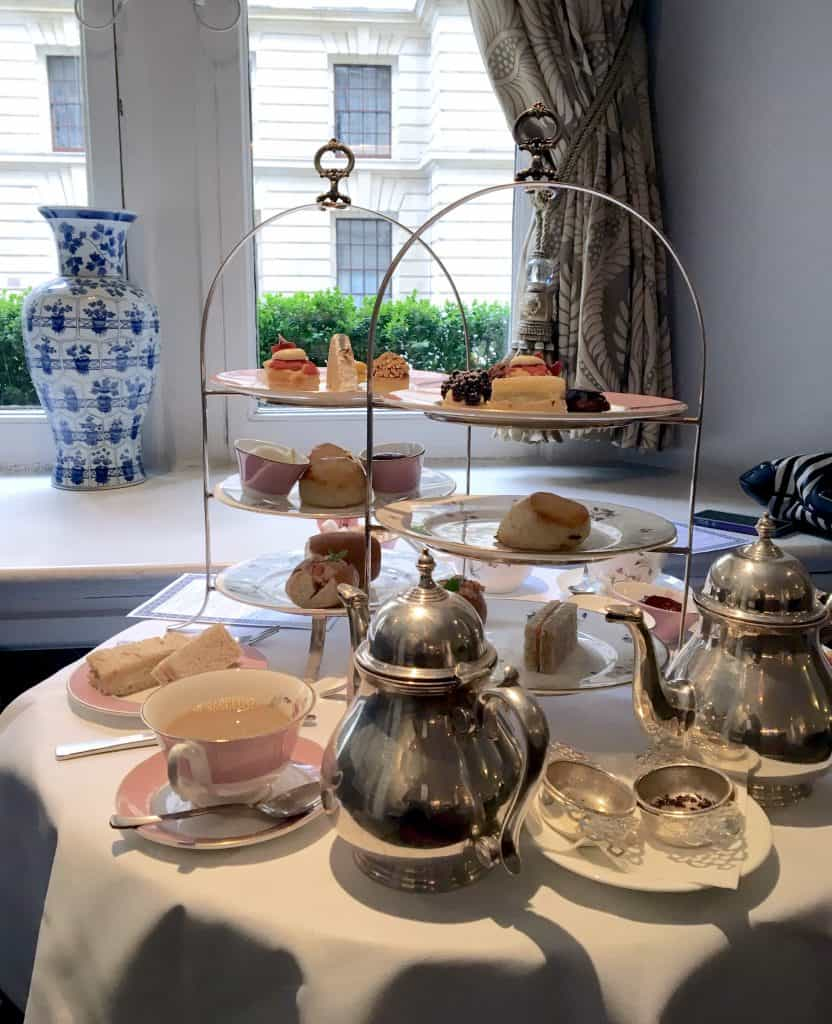 A Right Royal Afternoon Tea at the Royal Horseguards Hotel, London