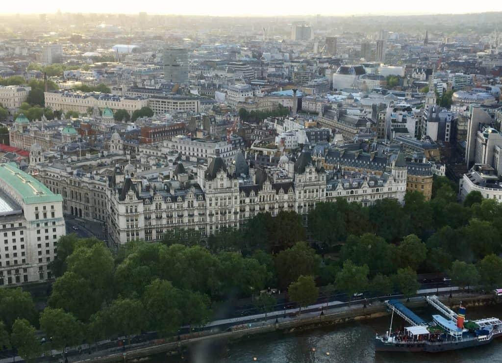 Royal Horseguards Hotel from The Coca Cola London Eye