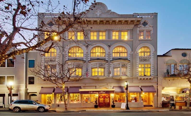 Exterior of Monterey Hotel
