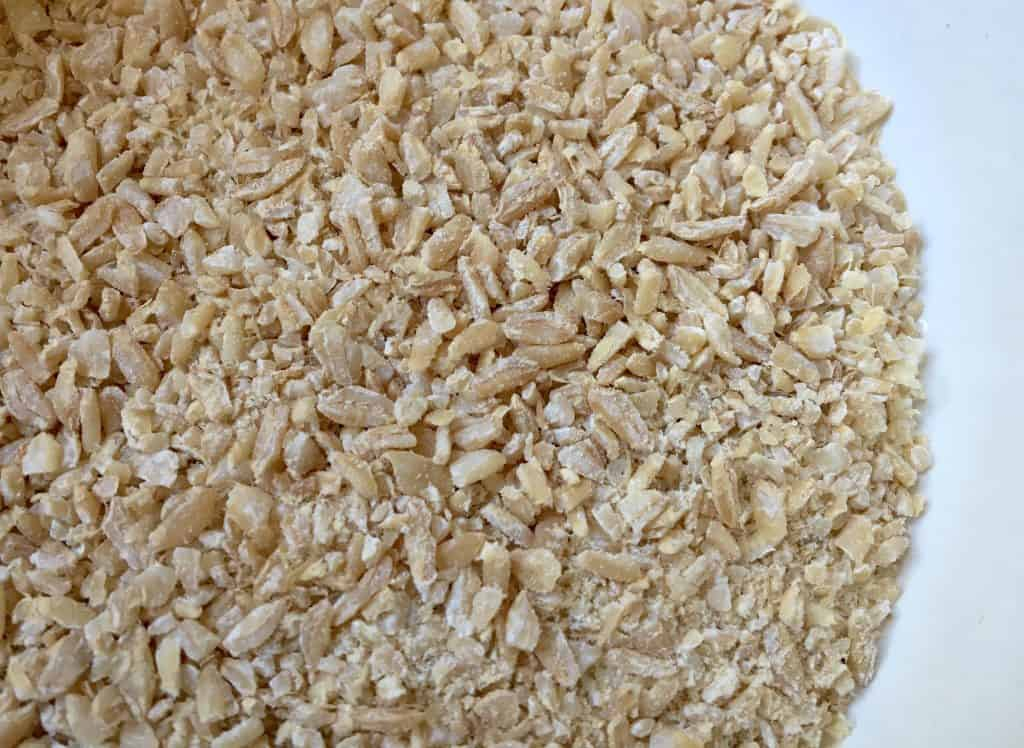 cracked wheat with the KoMo mill
