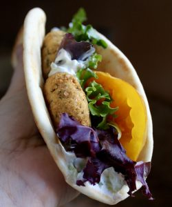 How to Make Your Own (DIY) Gluten Free Falafel Mix and a KoMo Classic Grain Mill Review
