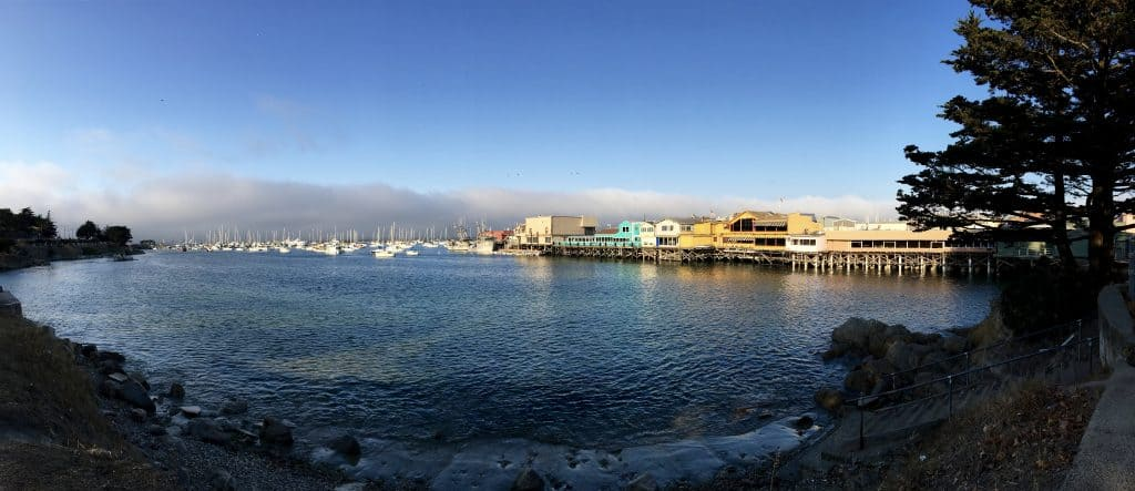 Picturesque Fisherman's Wharf in Monterey