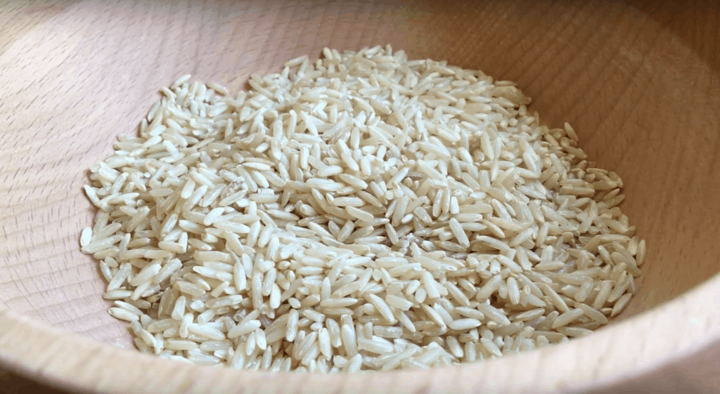 Rice in KoMo mill