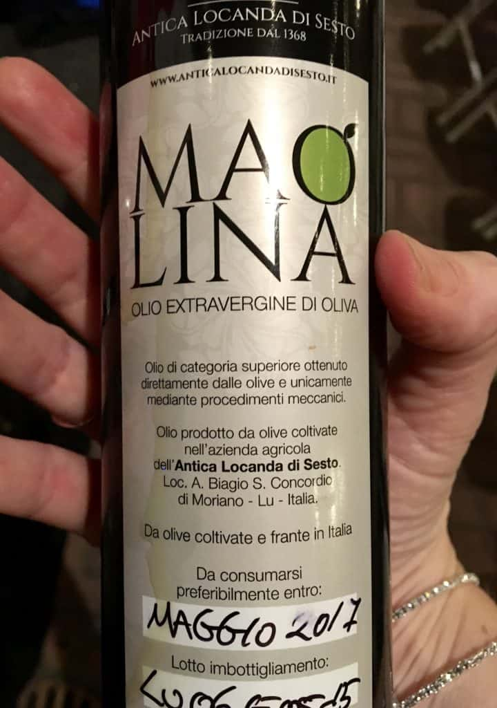 Maolina extra virgin olive oil