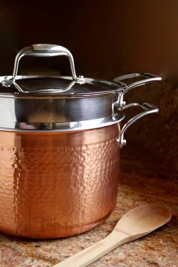 Lagostina Copper Pastaiola Pot