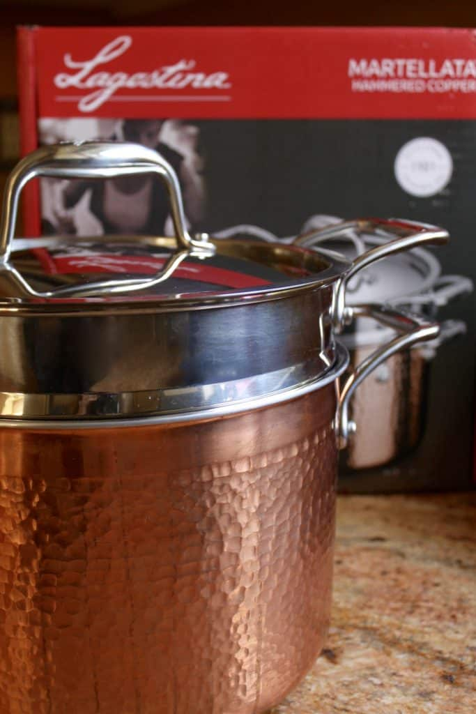 Lagostina Copper Pastaiola Set