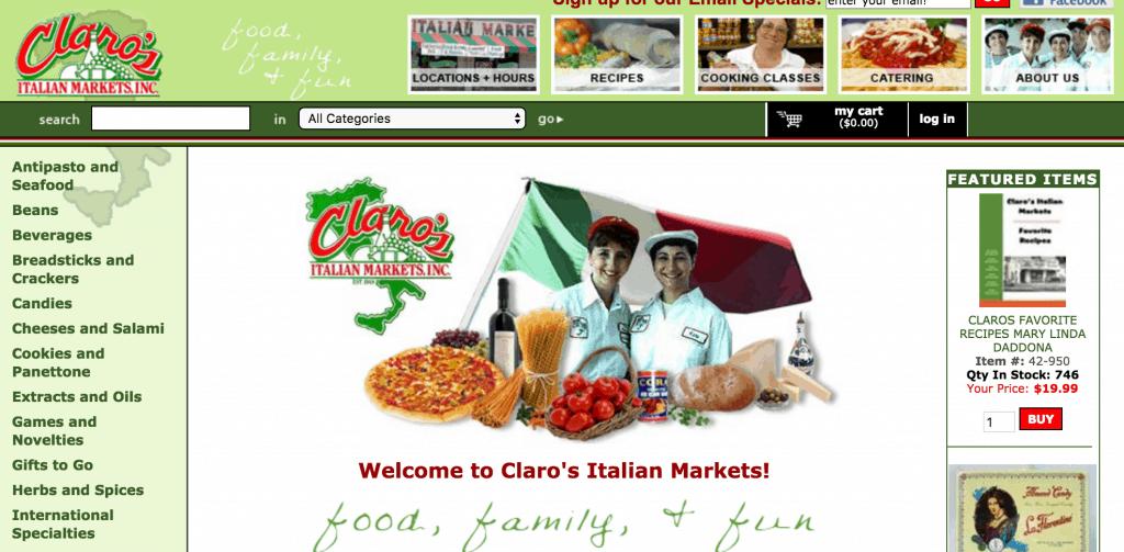 Claro's Italian Markets, LA