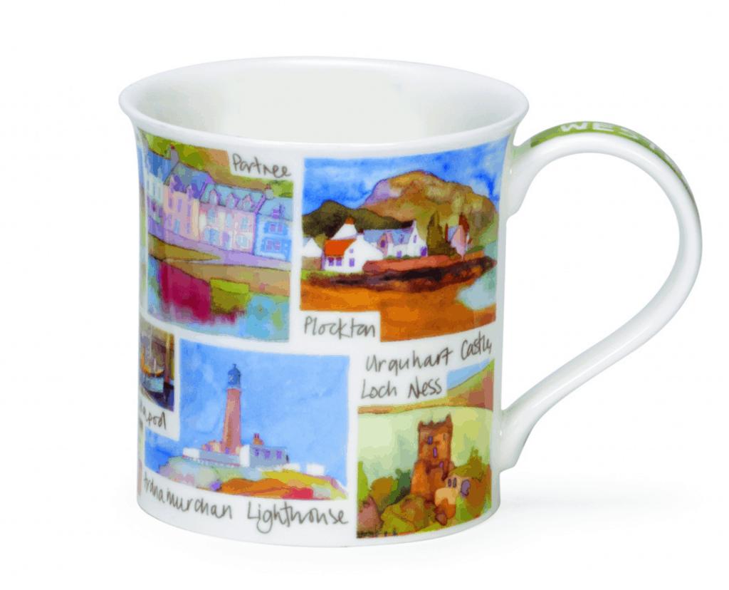 Dunoon Western Scotland Mug