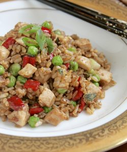 Fleming's Prime Steakhouse & Wine Bar in Pasadena and a Leftover Turkey Fried Rice Recipe