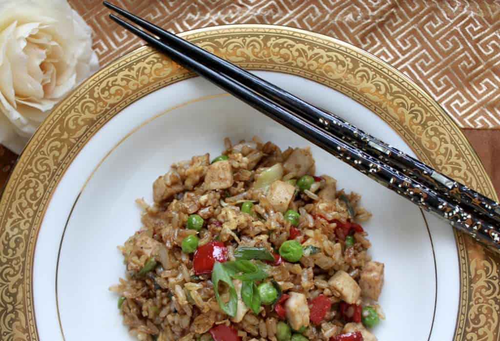 Fleming's Turkey Fried Rice