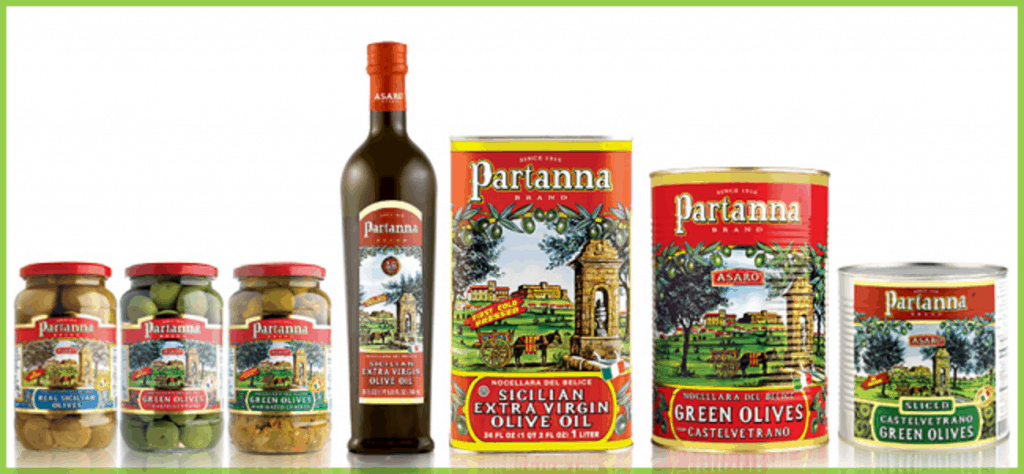 Partanna Olive products