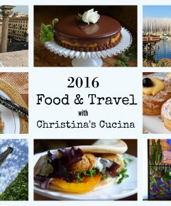 Christina's Cucina 2016 Food and Travel collage
