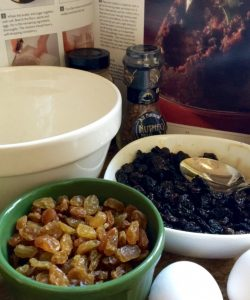 Traditional British Christmas Pudding (a Make Ahead, Fruit and Brandy Filled, Steamed Dessert)