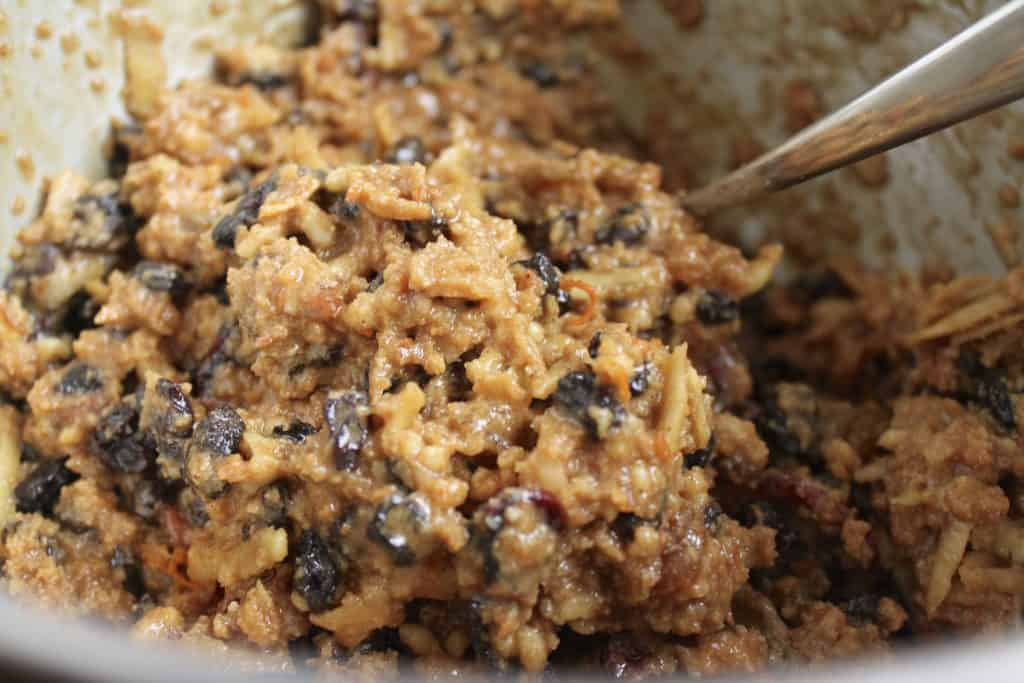 Christmas Pudding mixture