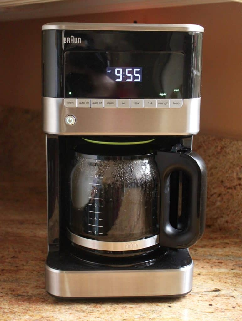 braun brewsense coffee maker instructions