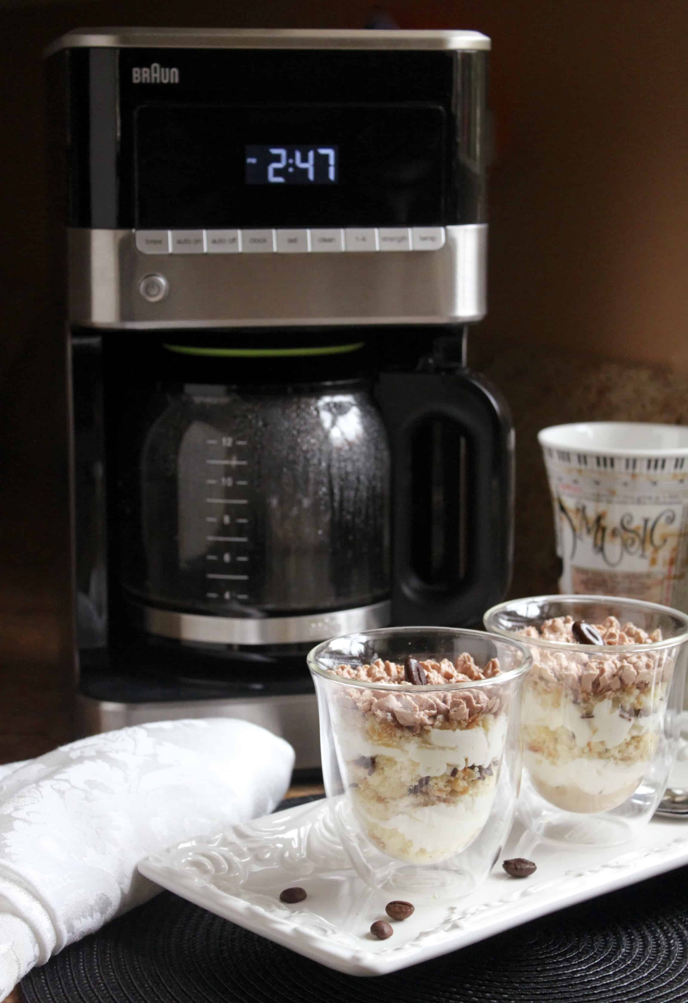 Braun BrewSense 12c Drip Coffee Maker with PureFlavor System with LCD Display