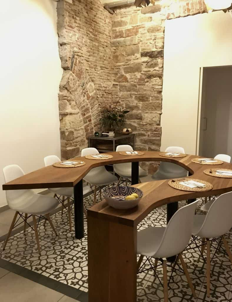 the dining area of Cook & Taste