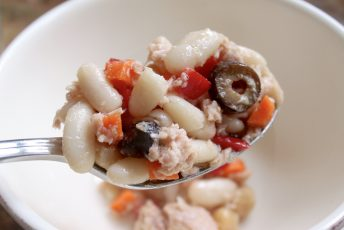 Protein Packed Tuna and Cannellini Bean Salad