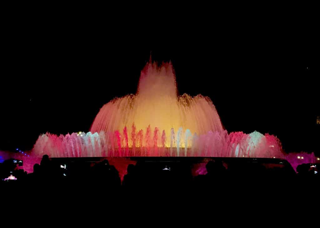 The Magic Fountain by Night (Barcelona)