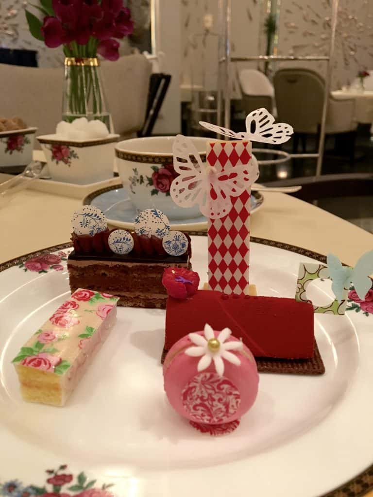 Sweets at Afternoon Tea at the Langham
