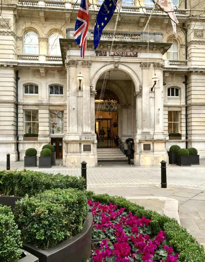The Langham Hotel, London (Christina's Cucina)