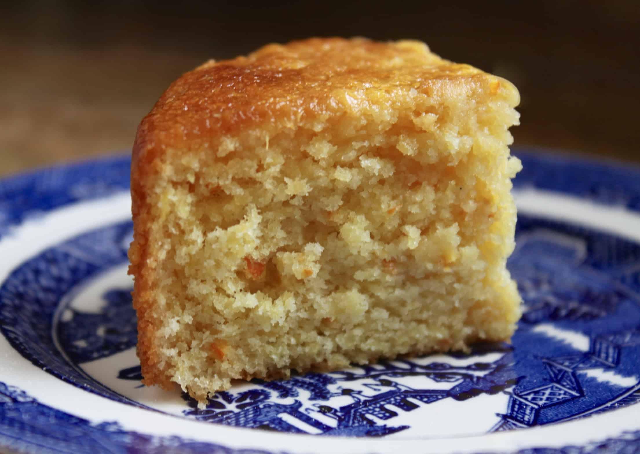 slice of Sicilian Orange Cake