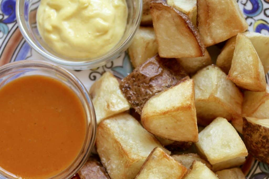 Spicy Spanish Potatoes (Patatas Bravas)
