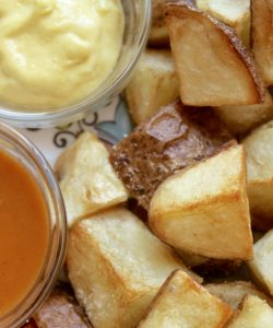 Spanish Patatas Bravas Recipe (Spicy Spanish Potatoes) and Tips for Visiting Barcelona