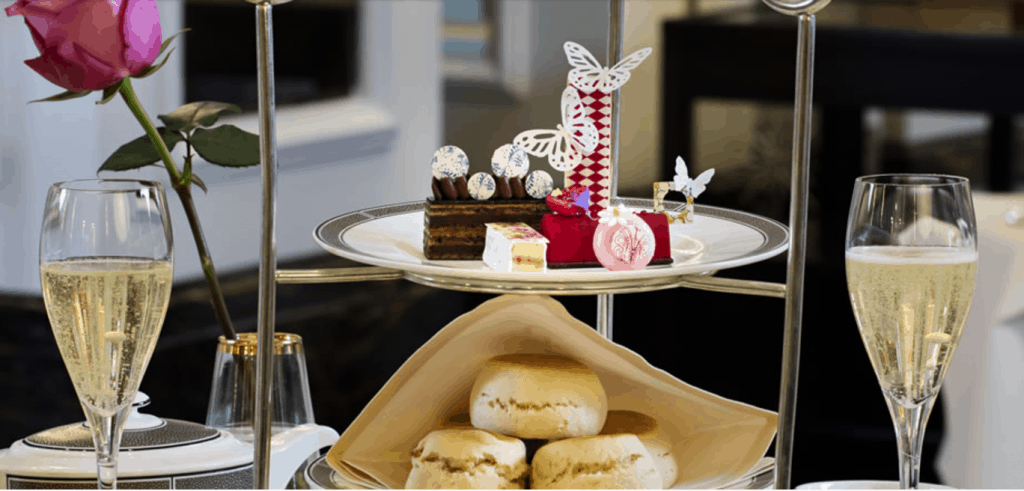 Langham London's afternoon tea with Wedgwood