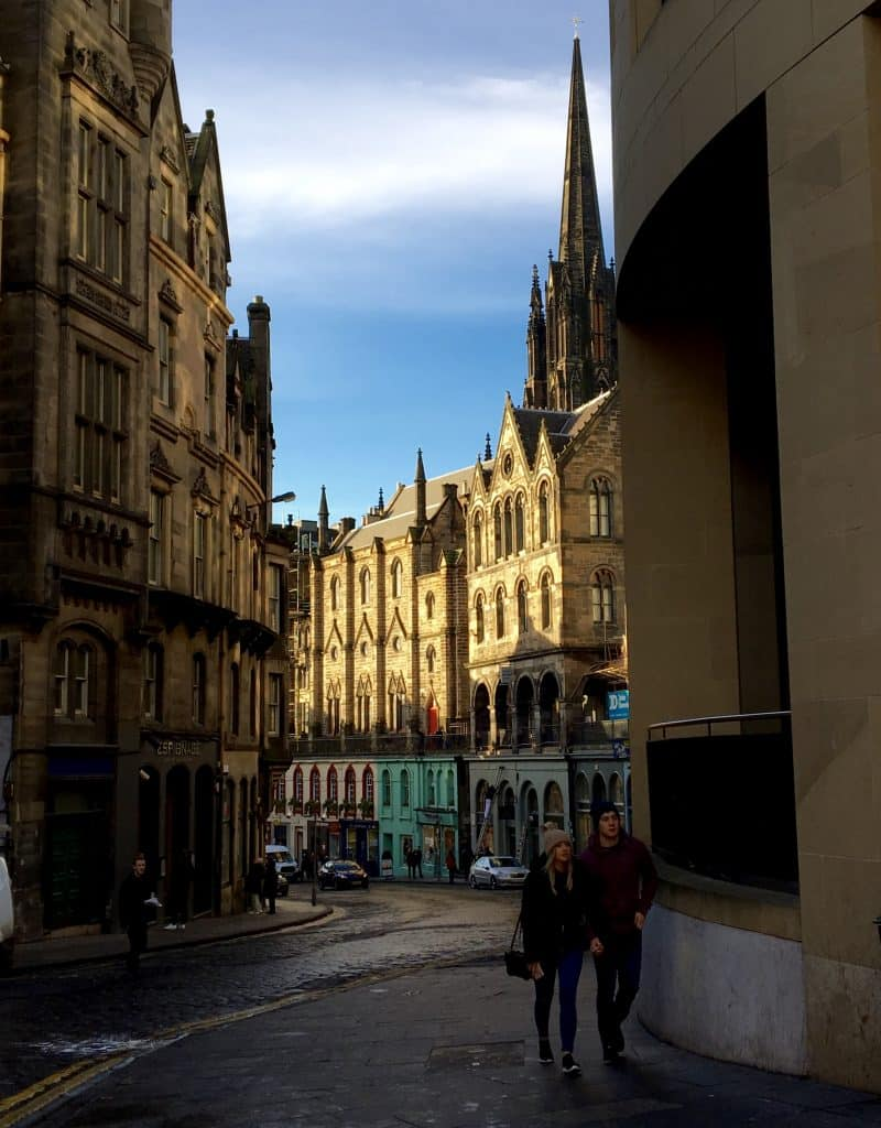 Street in Edinburgh