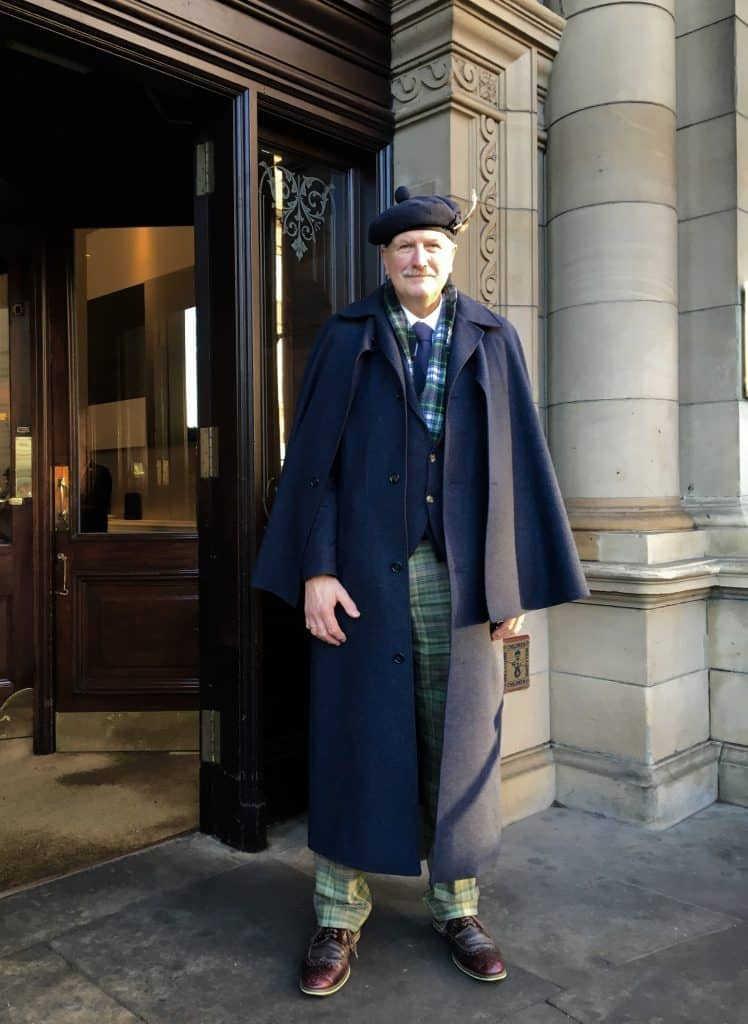 The Balmoral Hotel doorman.