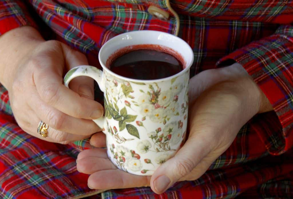 Blackcurrant and Orange Citrus drink for colds and flu
