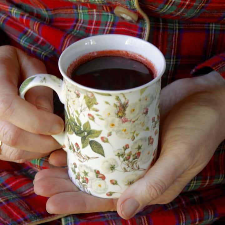 Black Currant and Orange Citrus drink for colds and flu