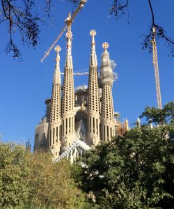 La Sagrada Familia still under construction