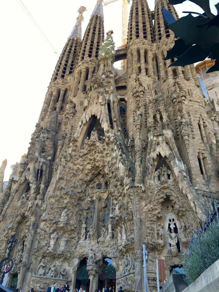 Front of La Sagrada Familia