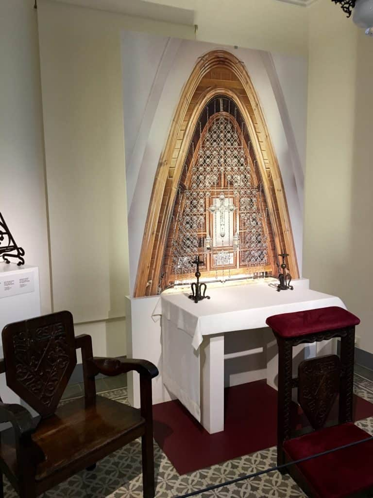 Gaudi chapel